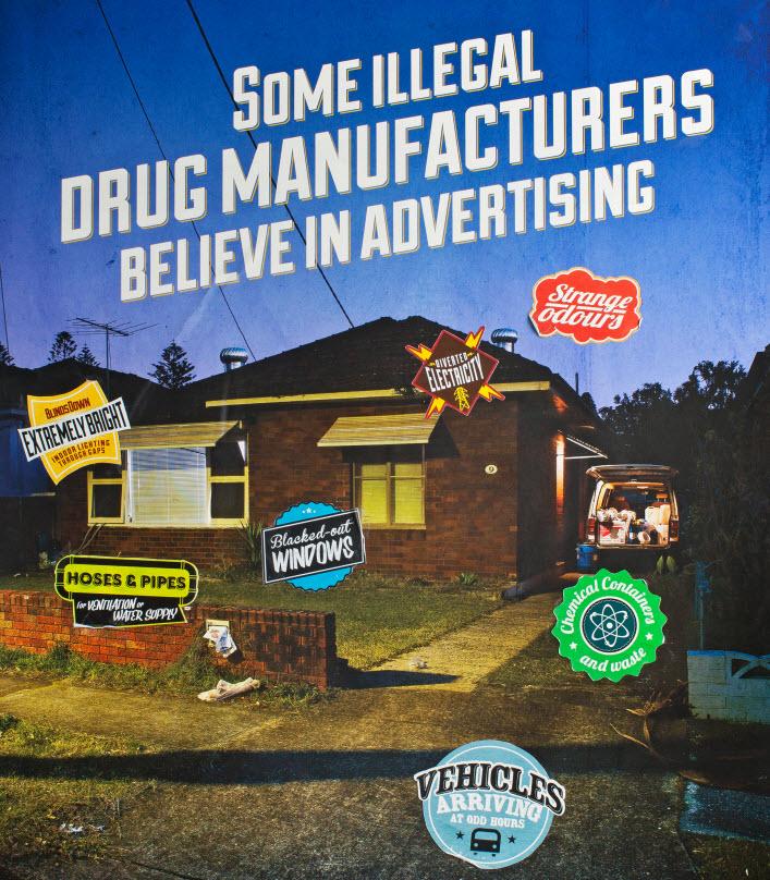 Drug house indicators poster