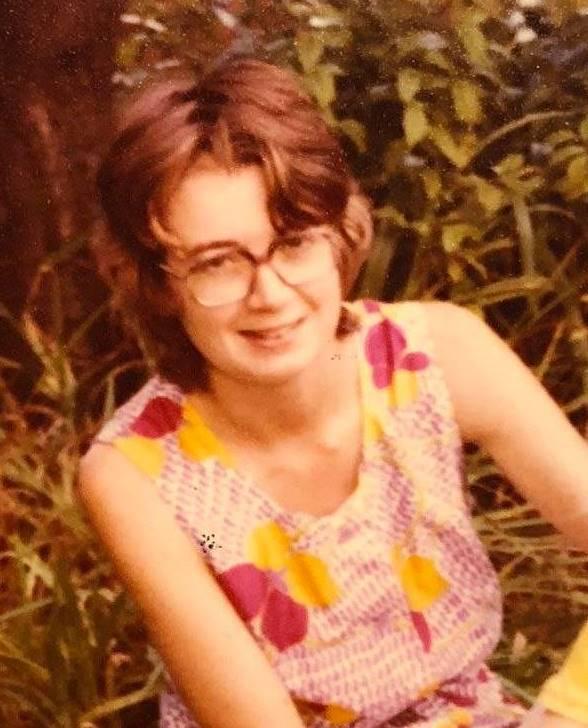 Roxlyn Bowie wearing glasses