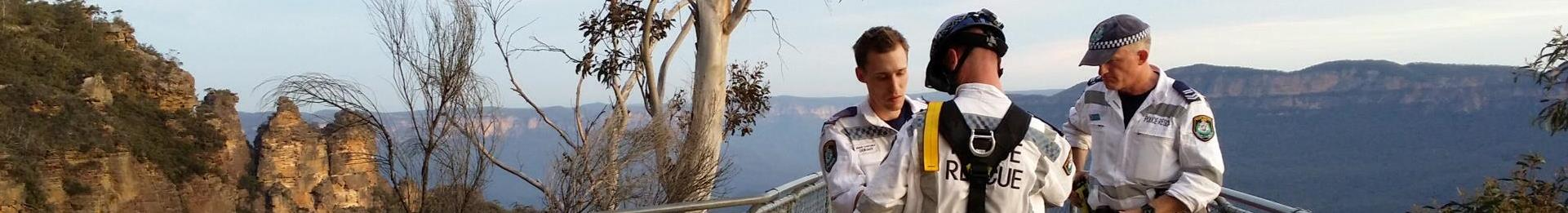 Police Rescue Training in Blue Mountains