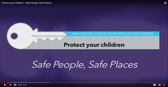 Safe People, Safe Places