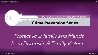 Protect your family and friends from Domestic & Family Violence
