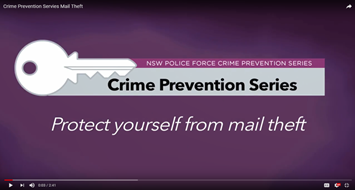 Protect yourself from mail theft