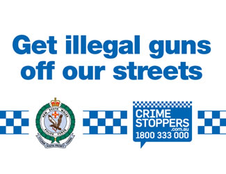 Get illegal guns off our streets