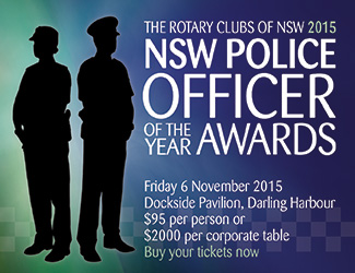 Rotary Police Officer of the Year