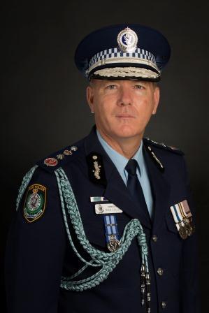 Commissioner Michael Fuller APM